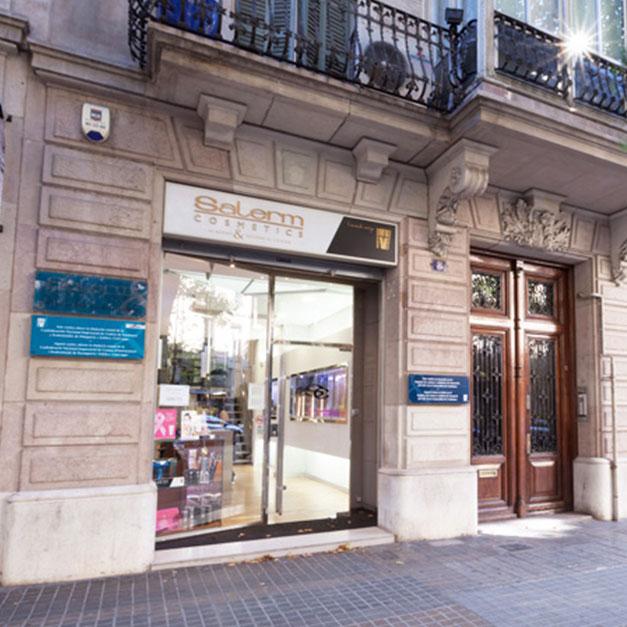Academia Salerm Cosmetics instalaciones en Barcelona