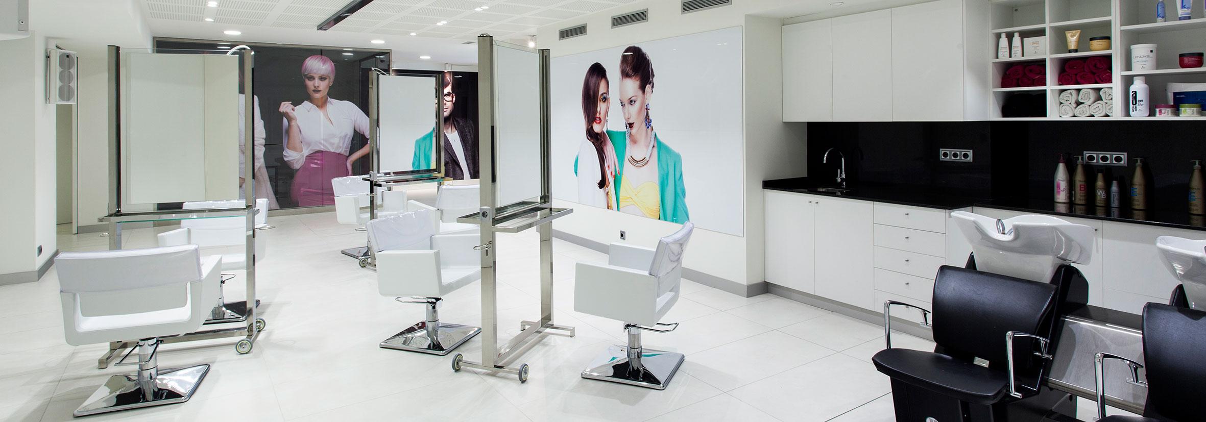 Instalaciones Academia Peluquería y Estetica Salerm Cosmetics Barcelona